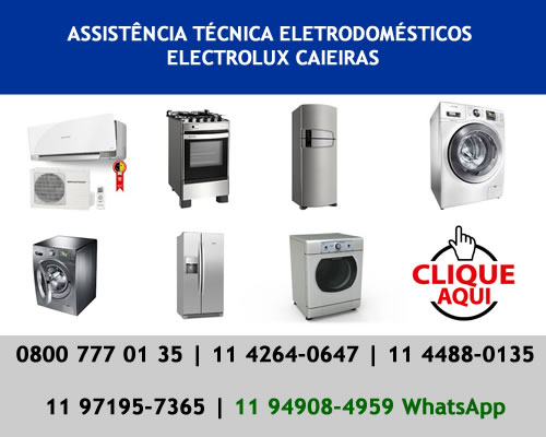Assistência técnica Electrolux Caieiras
