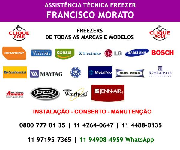 Assistência técnica freezer Francisco Morato
