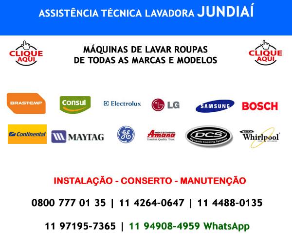Assistência técnica lavadora Jundiaí