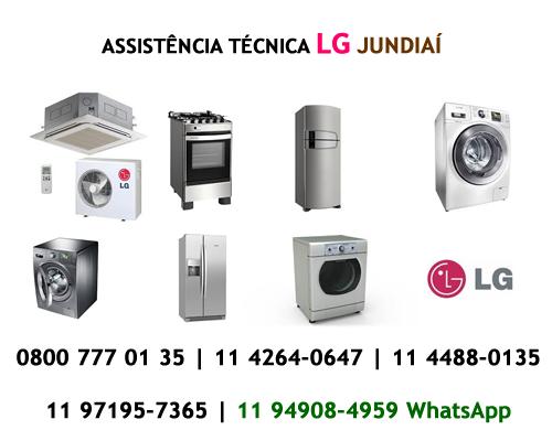 Assistência técnica LG Jundiaí