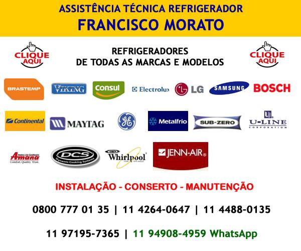 Assistência técnica refrigerador Francisco Morato
